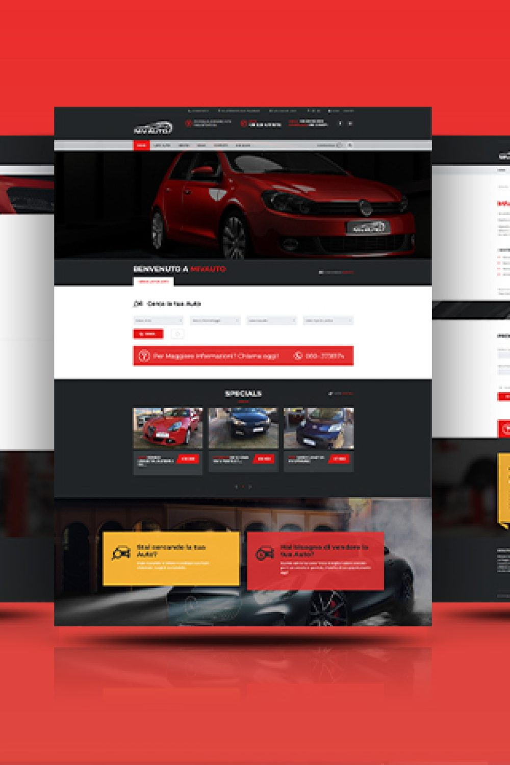 Mivauto Website